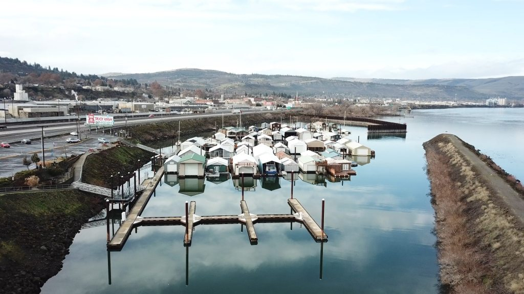 The Dalles Marina Guest Moorage